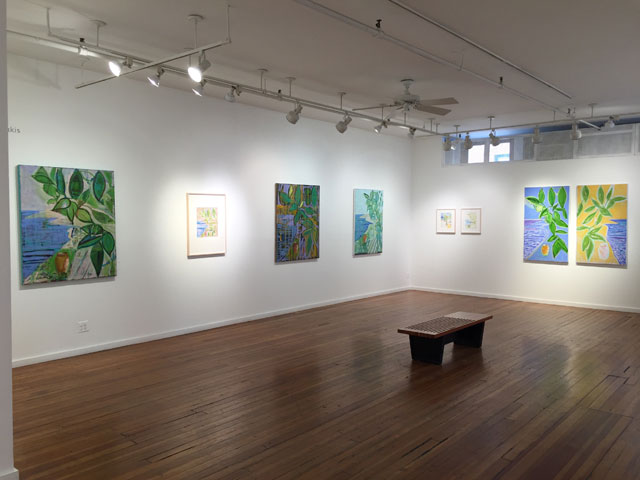 view of Prince Street Gallery Space